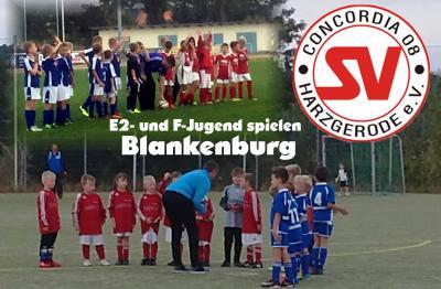 Foto zu Meldung: E2- und F-Jugend spielten in Blankenburg
