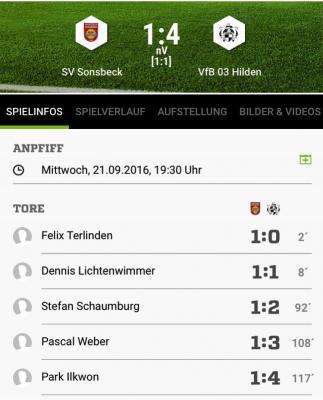 Foto zur Meldung: Senioren: Der VfB 03 steht in der dritten Pokalrunde