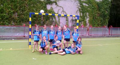 Foto zur Meldung: Handball-Nachwuchs:  Zweiter Turniererfolg für neue E-Jugend des HSV 04