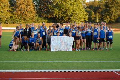 Foto zur Meldung: Nachwuchsathletinnen des Kreises Bonn/Rhein-Sieg gewinnen Silbermedaille