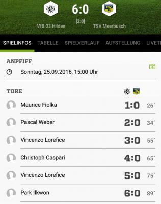Foto zur Meldung: Senioren: doppelter Heimsieg für den VfB 03 & perfekter Abschluss der englischen Woche