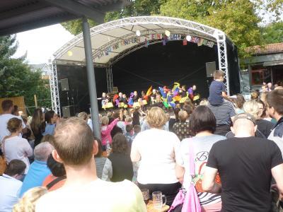"""Foto zur Meldung: """"Zuhause"""" auf dem 22. Kinder- und Jugendfest Nauheim"""
