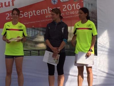 Foto zur Meldung: Christian Schreiner und Lisa Heimann gewinnen Hit Citylauf