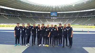 Foto zu Meldung: Sachsenhausener Fußballnachwuchs bei Hertha BSC