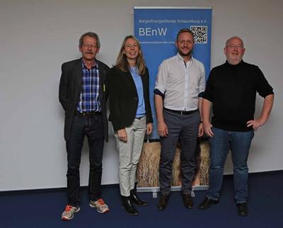 Manfred Görg, Doreen Fragel, Andy Satzer, Hans-Jörg Kohlenberg