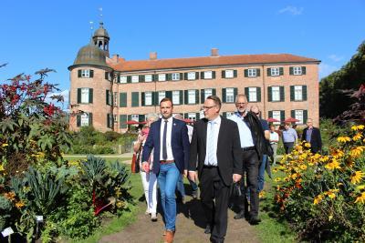 Foto zur Meldung: Wittstocker besuchen Landesgartenschau Eutin