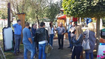Foto zur Meldung: Litauische LEADER-Delegation zu Gast in unserer Region