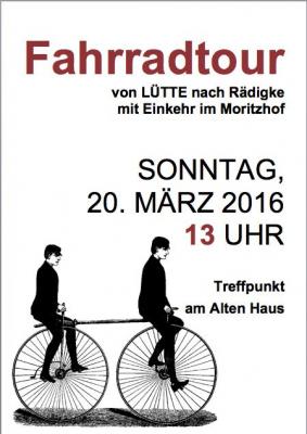 Foto zur Meldung: Fahrradtour