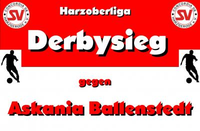 Foto zu Meldung: Derbysieg in der Harzoberliga !