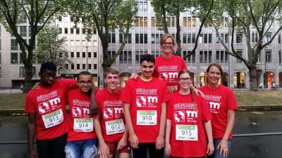 Foto zur Meldung: Teilnahme am REHACARE-Partnerlauf/Kö-Lauf