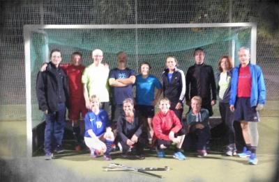 Foto zur Meldung: Zum Tag der Deutschen Einheit wurde Einheitshockey gespielt