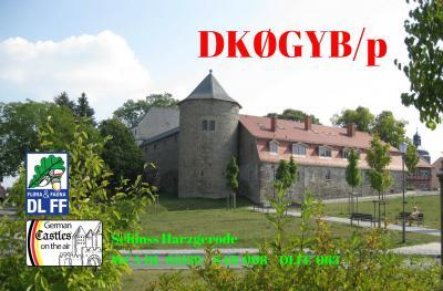 Vorschaubild zur Meldung: Amateurfunk im Schloss Harzgerode