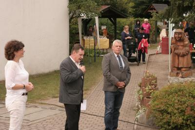 Foto zur Meldung: Geschickte Hände und grüne Daumen in Oppelhain