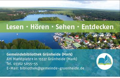 Foto zur Meldung: Neue Ausweise in der Bibliothek Grünheide (Mark)