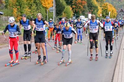 Foto zur Meldung: Deutsche-Rollski-Berglaufmeisterschaft