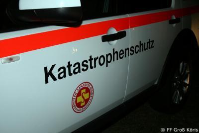 Foto zur Meldung: 07.10.2016 Großeinsatz - Hilfsorganisationen üben den Ernstfall