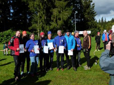 Foto zur Meldung: DM-Rollski-Berglauf -14.Ruhlaer-Skiroller-Berglauf