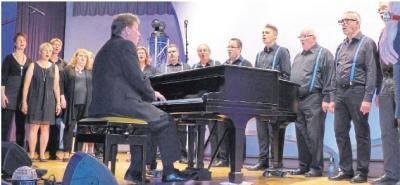 Foto zur Meldung: Publikum erlebt bewegende Chormusik