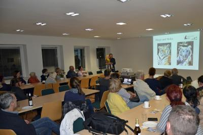 Foto zu Meldung: Vorstellung des Felidae Wildkatzen- und Artenschutzzentrum