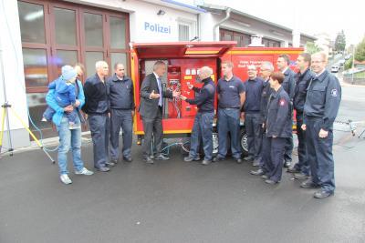Vorschaubild zur Meldung: Wächtersbacher Feuerwehr für die zukünftigen Aufgaben gut gerüstet