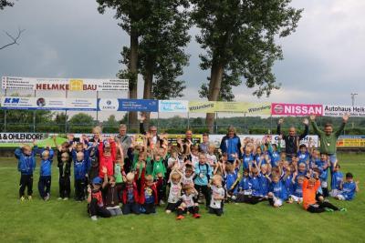 Foto zur Meldung: 2. Germania-Cup der G-Jugend erfolgreich