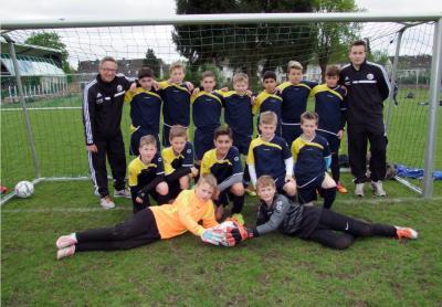 Foto zur Meldung: U12-Junioren – Erfolgreich in der Kreisauswahl