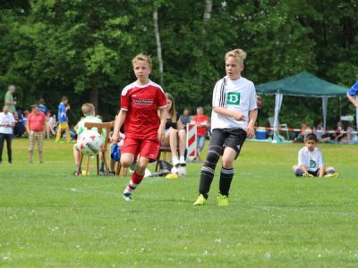 Foto zur Meldung: Sparkassen-Cup - U11 - Junioren bester Heidekreisvertreter