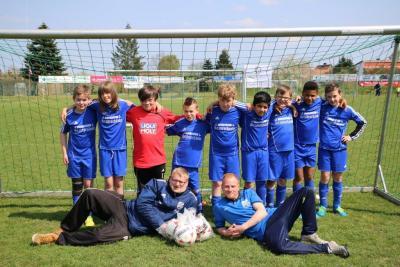Foto zur Meldung: Sparkassen-Cup - U11 - Junioren qualifizieren sich für Zwischenrunde