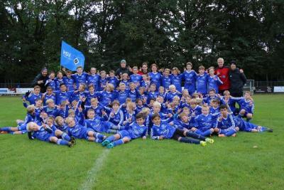 Foto zur Meldung: HSV-Fußballschule zum 5.Mal zu Gast bei Germania
