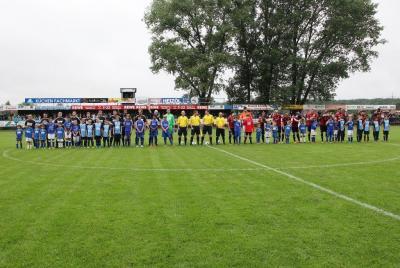 Foto zur Meldung: Freundschaftsspiel Germania - Hannover 96