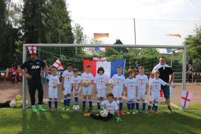 Foto zur Meldung: WZ-Mini-EM- U10 Junioren - Aus im Viertelfinale