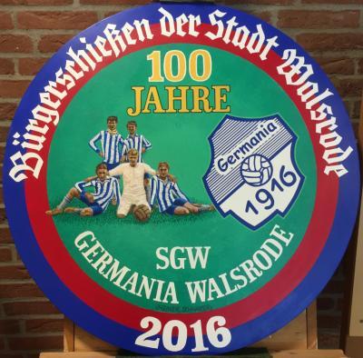 Die Bürgerscheibe der Stadt Walsrode 2016