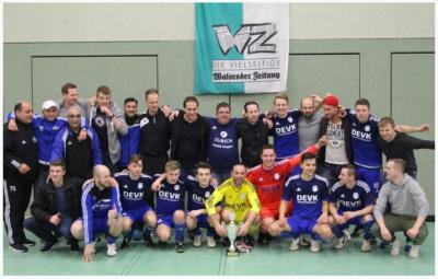 Foto zu Meldung: I. Herren gewinnen 31. Auflage des WZ-Wintercup
