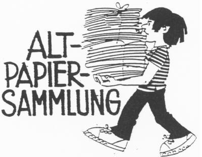 Foto zur Meldung: Altpapiersammlung - Container im Grünenthal