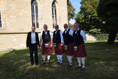 Foto zu Meldung: Schottische und Irische Klänge aus der Goldbacher Kirche