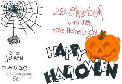 Foto zu Meldung: Sportliche Halloween-Party am Fr. 28. Oktober für Kinder von 6-10 Jahren