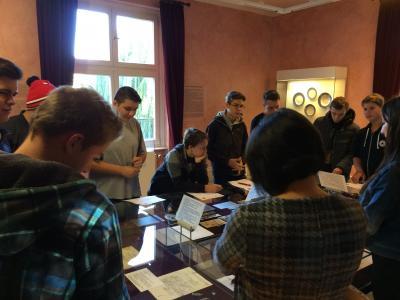 Foto zur Meldung: Exkursion im Rahmen des Geschichtsunterrichts
