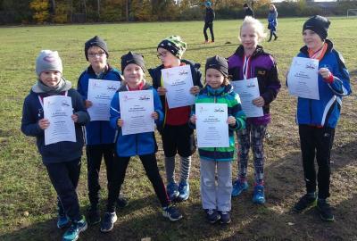 Foto zur Meldung: 40 Laager Ausdauersportler beim Fachhochschullauf in Stralsund