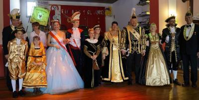 Foto zur Meldung: Prinzenpaarproklamation des KVMB
