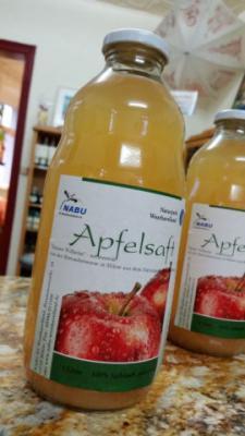 Foto zur Meldung: NABU-Apfelsaft jetzt auch in der TI