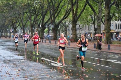 Foto zur Meldung: Hannah Kaufmann läuft in die deutsche Spitze
