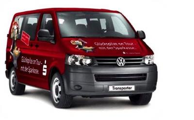 Foto zur Meldung: Sparkasse Oberlausitz-Niederschlesien verlost einen VW Transporter