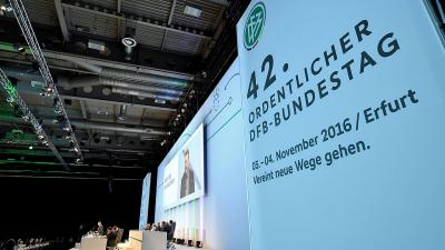 Foto zur Meldung: 42. Ordentlichen DFB-Bundestag