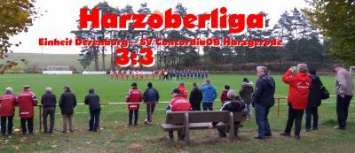 Foto zu Meldung: Harzoberliga: 3:3 in Derenburg