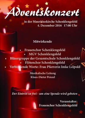 Foto zur Meldung: Adventskonzert - Frauenchor Schenklengsfeld in der Mauritiuskirche