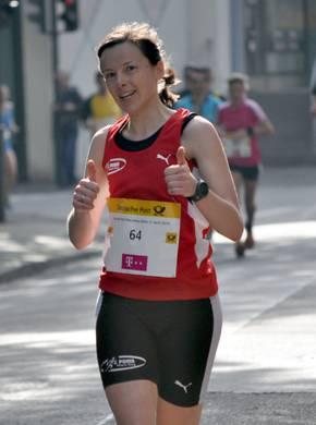 Foto zur Meldung: Sabine Korz holt Deutsche Meisterschaft im 24-Stunden-Trailrunning