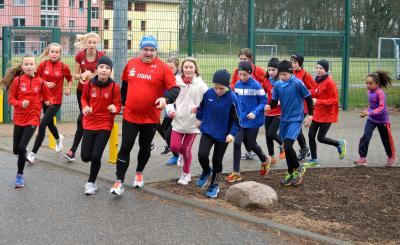 Foto zur Meldung: 9. OSPA-Stadtlauf beschließt das Laager Laufsportjahr