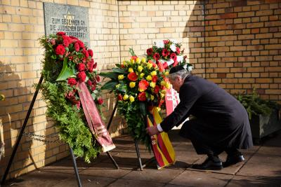Foto zu Meldung: Gedenken an Opfer der »Reichspogromnacht«