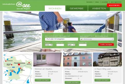Foto zur Meldung: NEU: @see-Immobilienportal