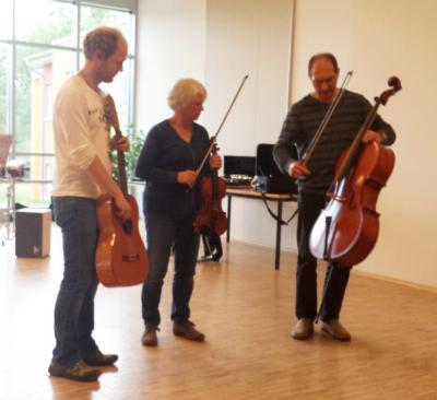 Foto zur Meldung: Grundschule Lübz: Musikunterricht live
